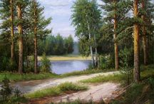 Paesaggi dipinti