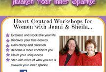 Awaken Your Inner Sparkle / https://www.facebook.com/AwakenYourInnerSparkle  Awaken Your Inner Sparkle - A Heart Centred Leaders Program to empower women to awaken their inner sparkle by Jenni & Sheila