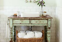 Vintage Inspired Bathroom