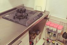 キッチンの整理整頓