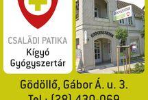 Kígyó Gyógyszertár - Gödöllő / Gyógyszertárunk Gödöllő belvárosában.