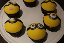 Minioms cupcakes en taarten / video's