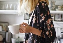 femme avec café / by french is beautiful