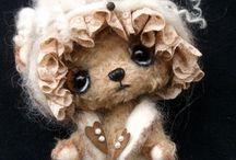 MY OOAK BEARS AND FRIENDS / The Tuscany Bear Maker I create only with my patterns