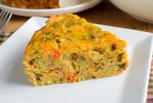Lentil and cheese bake easy