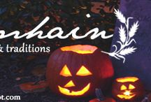 Samhain / October 31st - November 1st: A celebration of our ancestry and those who have passed through the veil. This is the third harvest festival celebrating storage for the upcoming winter.