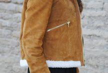 chaqueta con borrego