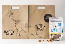 Pet Packaging / Design inspiration for lovely pet #packaging.
