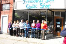 Read all about us! / Here are newspaper articles about your favorite quilt store!