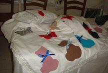 bebek battaniyelerim / bebekler ve battaniyeler
