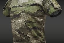 Army and smart ass clothing..
