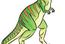 Dinosaur board for k.