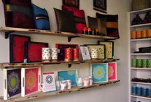 Hauz Khas Village Store / Our new store at the Village to display our exquisite handcrafted collection of artistic textiles, home décor and thoughtful gifts! Visit us at Level 1, the GTG House, (opposite House of Blondie and Café Zo).  We are open from 11 a.m. to 8 p.m.