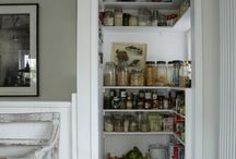 small walk in pantry