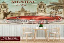klasik araba temalı duvar kağıtları