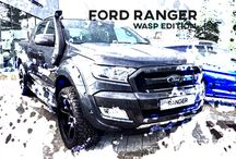 Ford Ranger WASP / Take a Ford Ranger Wildtrack, Add 20″ Wheels, Wheel Arches, a Snorkel and a few other Tweaks…. what do you get? A Ford Ranger Wildtrack WASP Speak to our team for the full details on 01656 837236