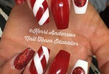 nails for christmas