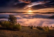 Bucovina Sunrise ,Romania ,Octomber 2015