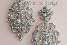 Bridal jewelry - Svadobné šperky / www.marieedesign.sk