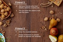 Prep Squad / Cooking gets better together. Recruit your friends, build your Prep Squad and make any one of these specially designed Friendsgiving group recipes.