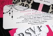 Wedding - Black and Pink