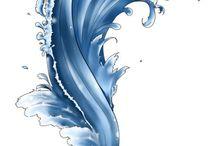 Идеи татуировки моря