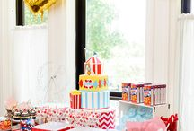 Nate's First Birthday / Carnival / Big Top Circus theme