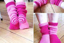 crochet sock inspiration