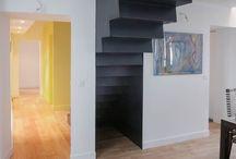 Escalier / divers réalisation d'escaliers