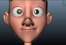 Facial rigging