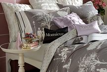 Bedding - Paris Collection / The Blissliving Home Fall/Winter 2012 Collection was inspired by Mei Xu's travels in Paris. The collection includes bedding, duvets, comforters, coverlets, quilts, throws, blankets, pillows, shower curtains, fashion, loungewear, gifts, and more.