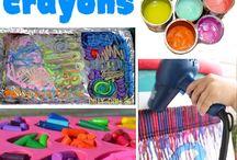 Crayon melts