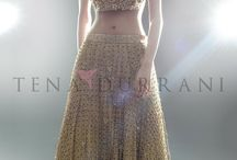 lavishing lehangas & dress wears.