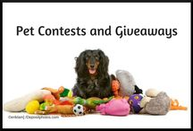 Pet Contests and Giveaways / Pet bloggers have the best contests and giveaways! Find more contests or add your own pet related giveaway at http://www.petproductreview.net/pet-contests-and-giveaways/