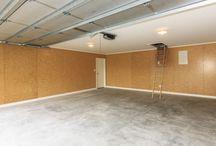 Garages, man caves, workshops and studios