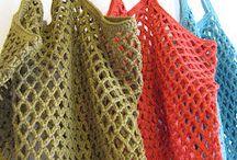 Crochet - Sacs, paniers, porte-monnaie, etc...