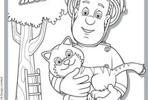 Children - Activities - Colouring Pages / by Cathy Dods Wood