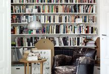 Home: small library room