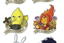Adventure Time Tattoos / by Justyna Palasiewicz