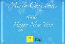 iDigit Christmas Cards
