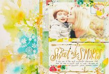 Mixed media scrapbooking / by Emma Harrison