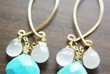 simple earrings by art
