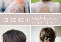 Bryllup - kjole, hår