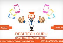 Desi Tech Guru - FulFill Your Tech Desires / FulFill Your Tech Desires mobile phone news details about latest mobiles Technology . Desi tech Guru Provides every information about latest gadgets , smartphones, laptops , tablets and cameras etc