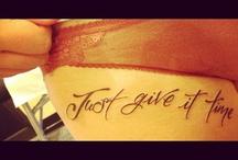 tatt it up:) / by Bre Sampson