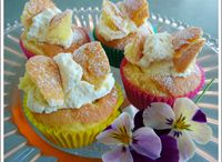 Cakes for afternoon tea / Yummy treats to share