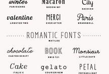 DESIGNS | Typography