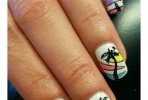 Nail Art - Zomer