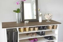 shoe shelve cupboards