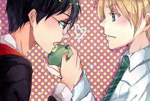 """Harry x Draco    Doujinshi """"Harry Potter"""" : Yaoi World / Images sur le thème du couple yaoi (ou boy's love): Harry Potter x Draco/Drago Malfoy Livres/Films : Harry Potter"""